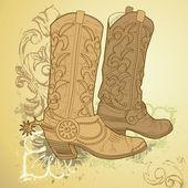 Bottes de cowboy — Photo