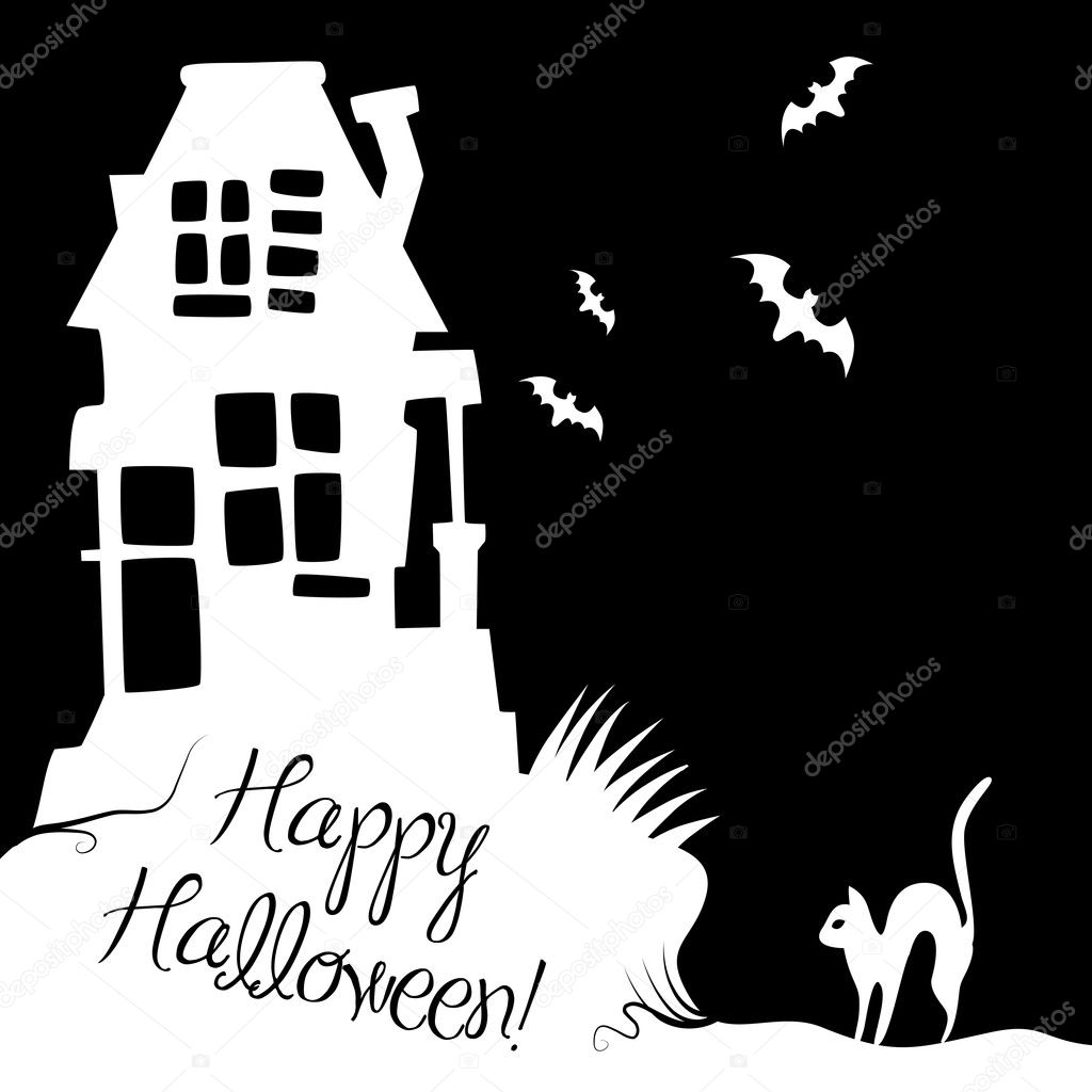 Halloween Background  Stock Photo #7552676