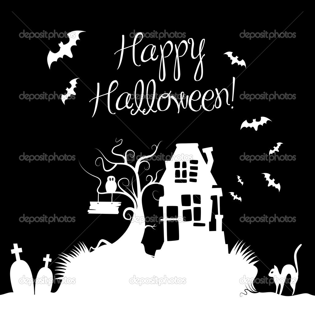 Halloween Background  Stock Photo #7552678