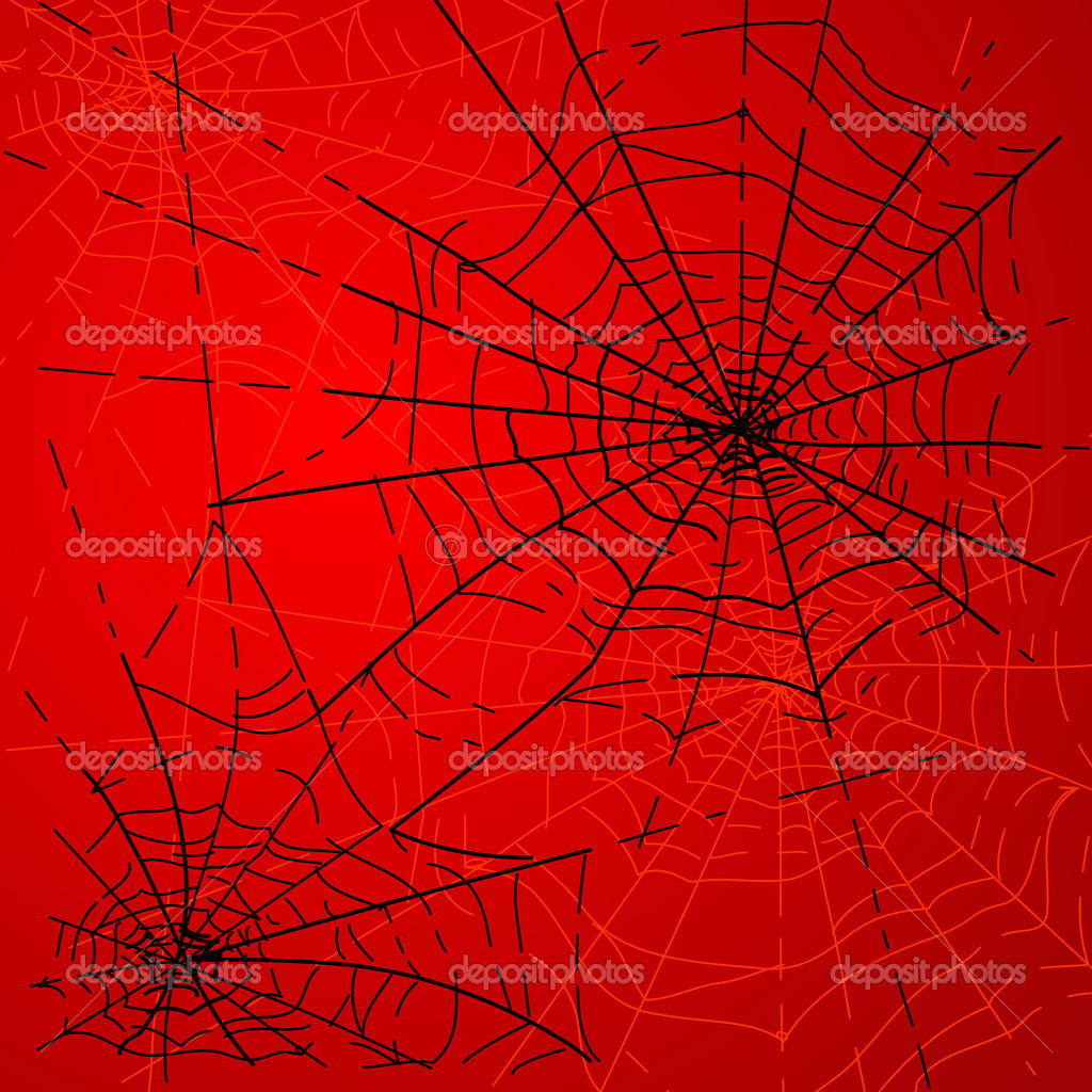 Halloween Spiders web — Stock Photo #7552704