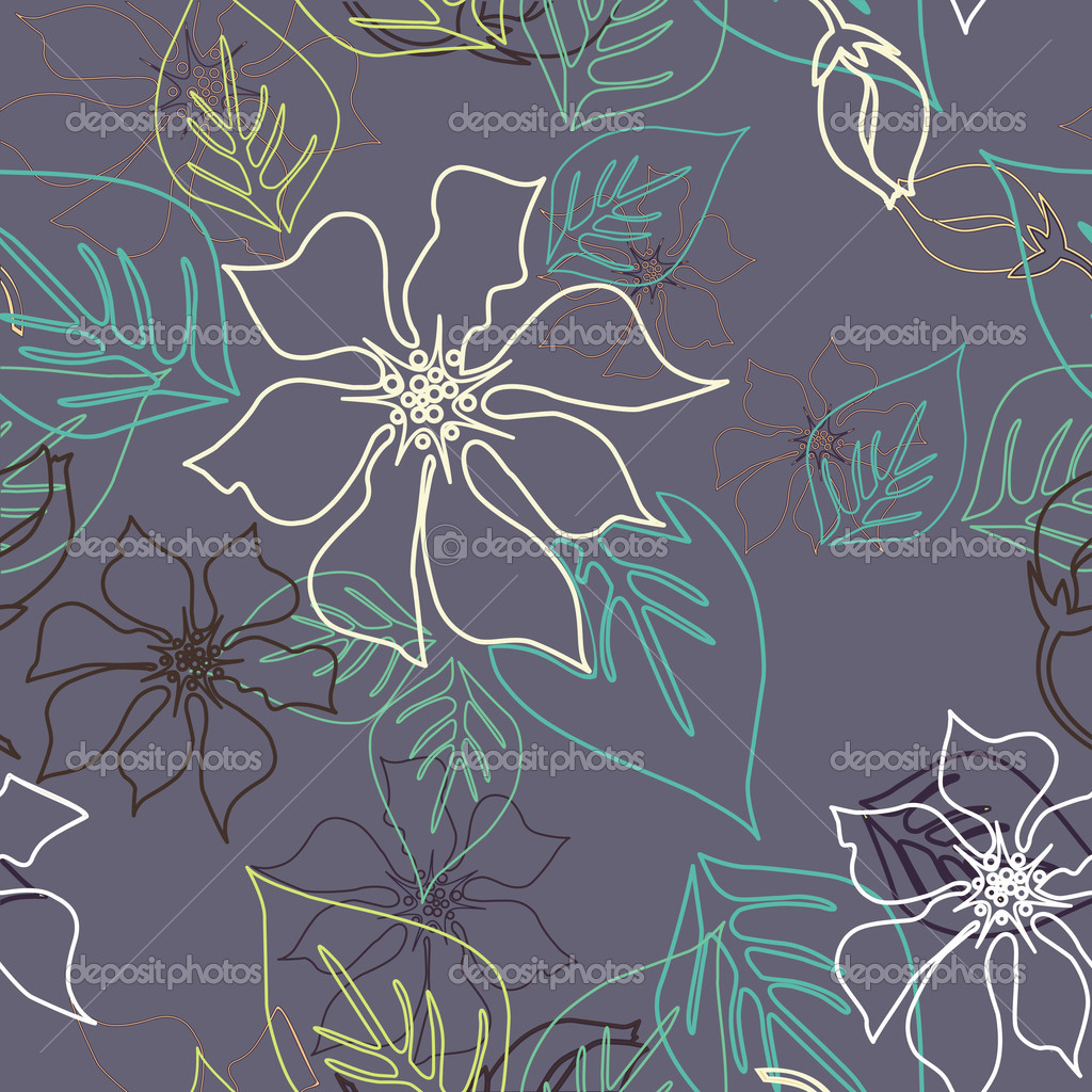 Seamless Aloha Pattern — Stock Photo #7552715