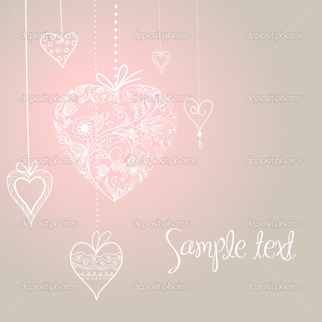 Wedding card  Stock Photo #7552724
