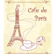 Cafe de Paris - Stock Photo