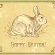 Easter rabbit — Stock Photo #7560448