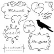 Royalty-Free Stock Photo: Doodle frames