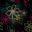 Seamless Aloha Pattern - Photo