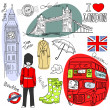 London doodles — Stock Photo #7560645