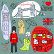 London doodles — Stock Photo #7560648