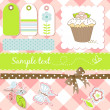 Scrapbooking elements — Stock Photo