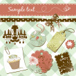 Vintage scrap-booking elements — Stock Photo #7560853