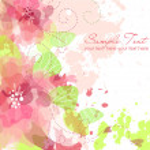 Artistic flower background — Stock Photo