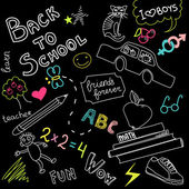 Back to school doodles — Stok fotoğraf