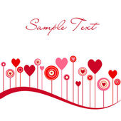 Cute vector valentine background — Stok fotoğraf
