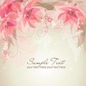 Romantic Flower Background — Stock Photo