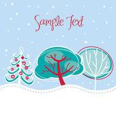 Christmas tree background — Stock Photo