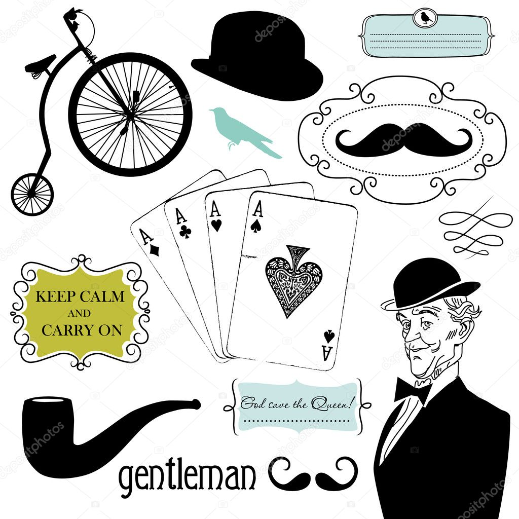 A Gentlemen's Club — Stock Photo #7560768