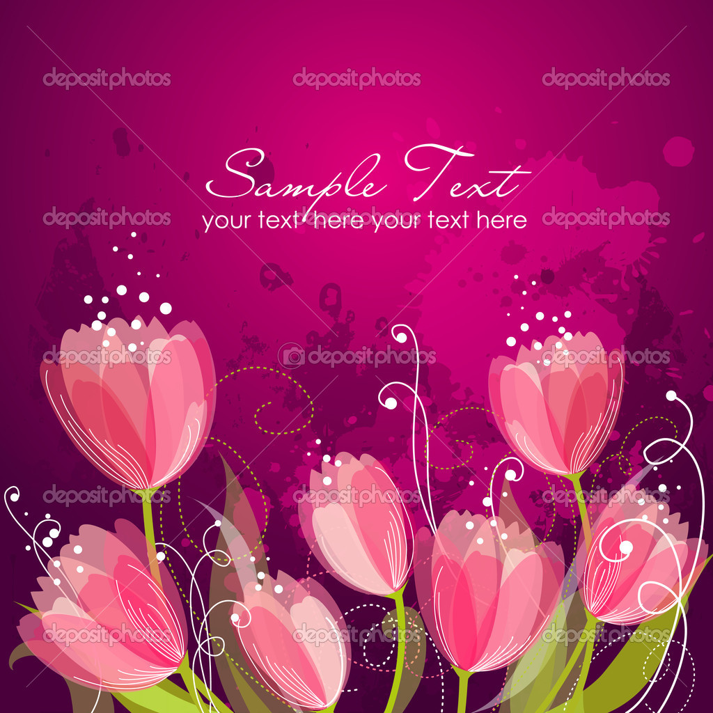Romantic Flower Background — Stock Photo #7561360