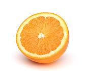 オレンジを半減します。 — ストック写真