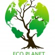 Eco-friendly green environment concept - 图库照片