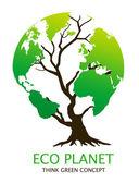 环保绿色环保概念 — 图库照片