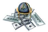Weltwährung — Stockfoto