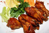 Chicken wings barbecue — Stock Photo