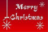 Merry Christmas greeting card — Stock Photo