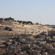 View of East Jerusalem (Israel) in early morning — Stok fotoğraf