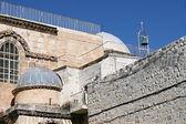 Kudüs'te kutsal kabir kilisesi — Stok fotoğraf