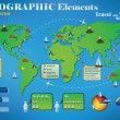 Royalty-Free Stock Vector Image: Infographic Travel Elements