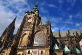 Prague St. Vitus' Cathedral — Stockfoto