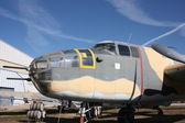 Vintage bomber — Stock Photo