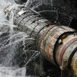 Old Leaking Pipe — Stock Photo