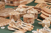 Wood Craft Collection — Stock Photo