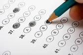 Multiple Choice test — Stock Photo