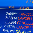 Cancelled flights — Stock Photo #7478420