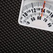Scale showing weight — Stockfoto