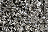 Metal shavings — Stock Photo