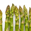 Stock Photo: Asparagus tips