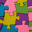 Stock Photo: Puzzle pieces