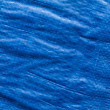 Blue tarp — Stockfoto
