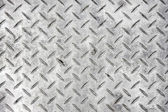 Steel checker plate — Stock Photo