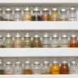Stock Photo: Spice rack