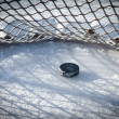 Hockey goal — Stock Photo #7561730