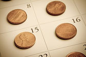 Pennies a day — Stock Photo