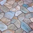 Stock Photo: Stone patio
