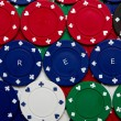 Stock Photo: Poker greed background