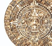 Calendrier aztèque — Photo