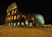 Amphitheatre at night, Rome — Stock Photo