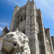 Avila Cathedral. - Stock Photo